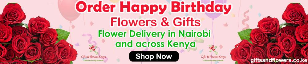 Birthday Flowers in Nairobi